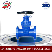 high quality resilient seated gate valve(Anti-burglary)