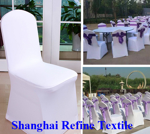 Wholesale hotel wedding spandex chair cover