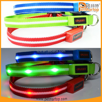 New TZ-PET6100 Dazzle Star Series glowing led collar
