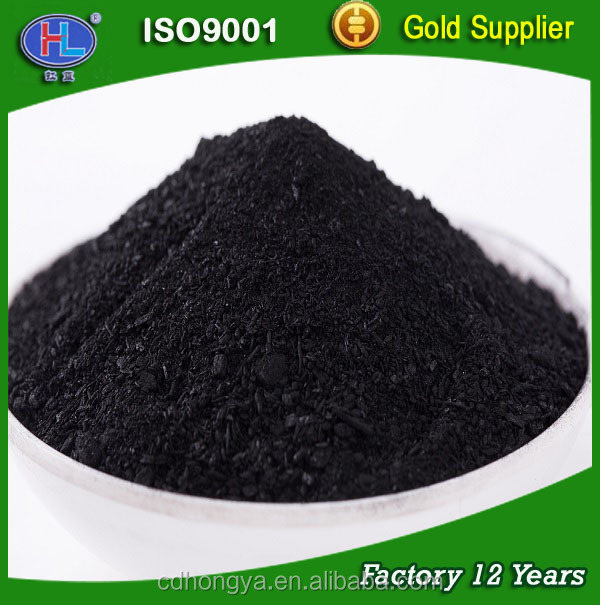 credible coal based powder activated carbon for the macromolecular pigment removing