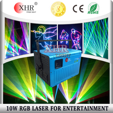 XHR Laser 10W Multi Color Outdoor Wall Logo Projector Laser Bliss Lighting
