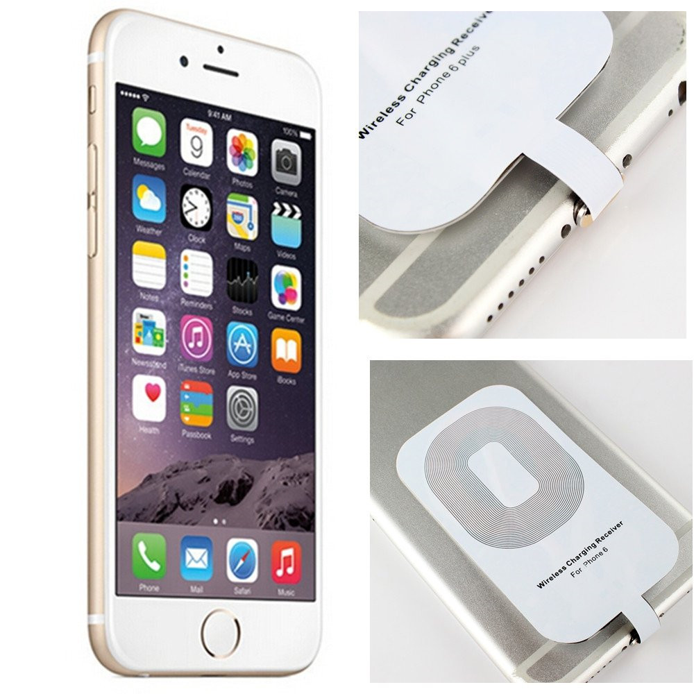 qi wireless charger receiver card for IPhone 6/6s/5/5s/5c