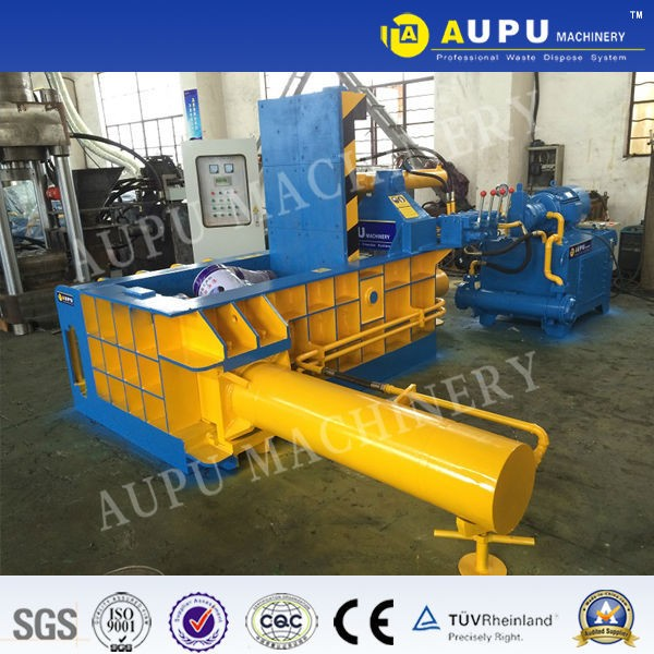hydraulic automatic scrap metal steel car baler from uk factory