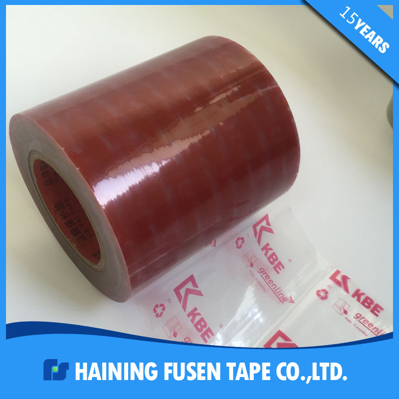 high quality and custom colorful PE plastic screen printing protective film