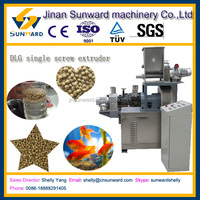 High efficiency DLG fish food make granulator, floating fish feed extruder machine