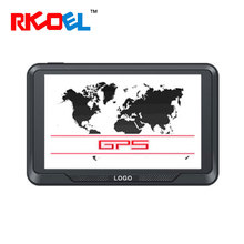 Portable 5 Inch TFT LCD Cheap Gps Navigator For Car Support Mp4