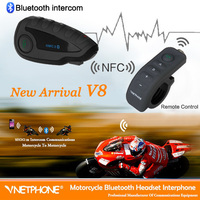 Waterproof motorcycle radio Helmet audio intercom system
