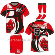Sublimation soccer jersey unisex football jersey soccer sports wear importers