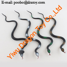 Promotional Item For Vivid Rubber Snake Toy