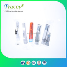 airways airlines used easy take foldable travel toothbrush dental kit