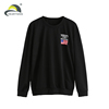 100% cotton custom wholesale crewneck sweatshirt men