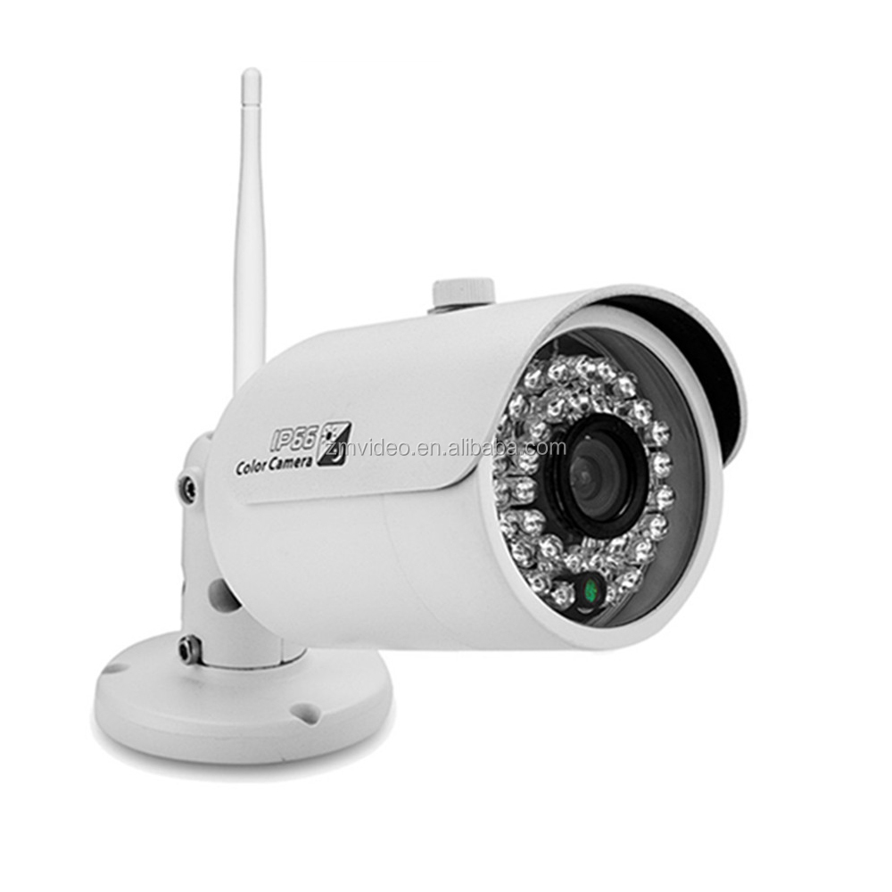 Full AHD indoor hikvision cctv camera with plastic IR outdoor waterproof
