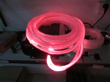 0.75mm twisted string side glow fiber optic using in pool