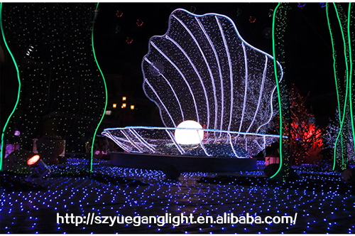 warm white led outdoor lighting programmable net light with CE UL SAA christmas programmable net light