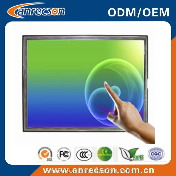 15 inch sunlight readable lcd monitor with VGA HDMI DVI input