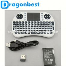 2.4G wireless fly air mouse with keyboard for smart TV and android TV BOX/PC/HTPC