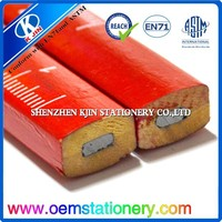 2015 high quality pencil calibration square carpenter's pencil red paint