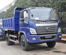 Price FOTON 3 tons Light Small Dump Tipper Truck For Sale