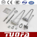 TUOFA stay rod with stay plate and thimble