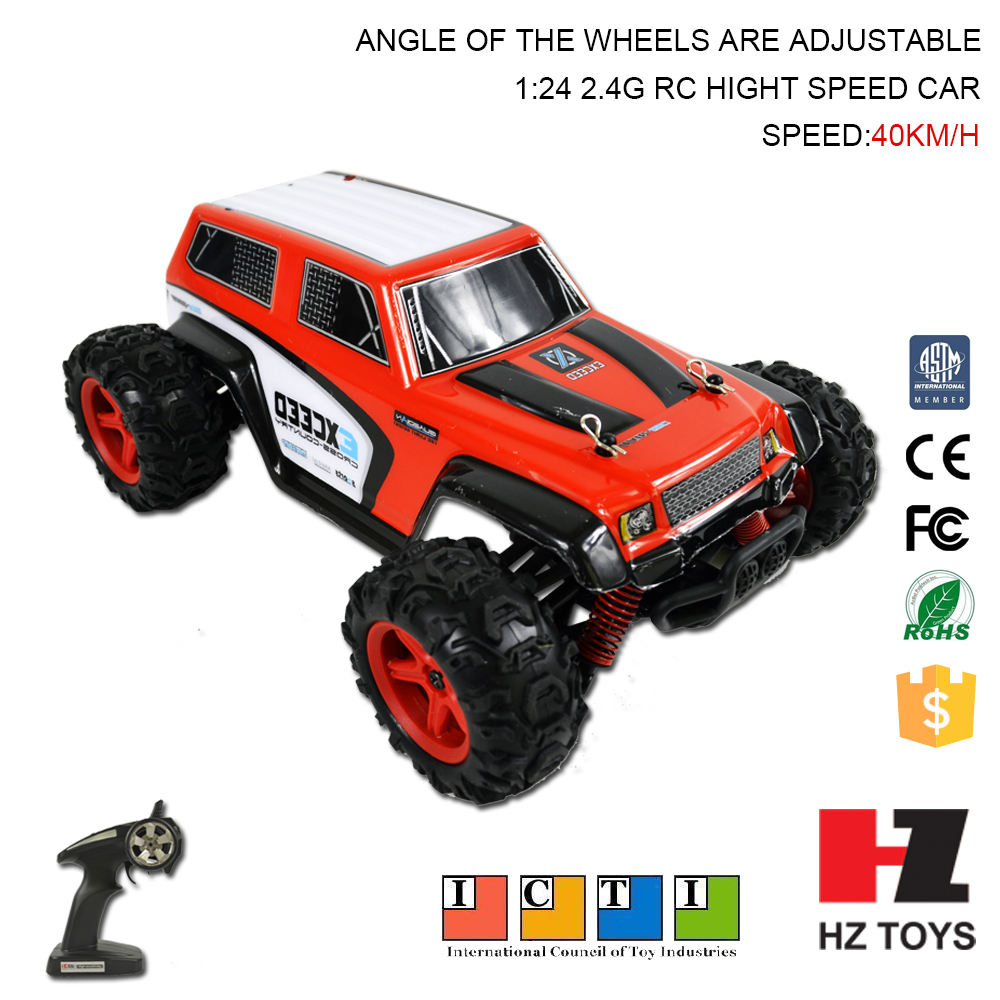 China make remote control toy car 4x4 with 40km/h