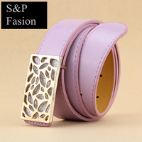 High quality fasion pu lady belt