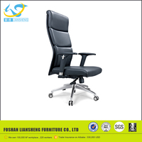 High Back Synthetic Leather Luxury Office Chair with Castors AB-430
