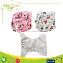 PSF-04 printed leak guard abdl thick adult aio cloth diapers all in one
