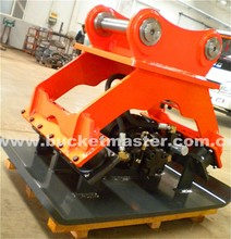 Easy application hydraulic vibratory plate compactor for 1-80t excavator