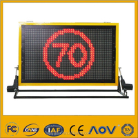 0Led Outdoor Ads boards sign Truck Mounted Message Display Panel Portable Traffic Information Sign
