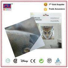 High Quality No Glue Easy Remove Stickers Bathroom Wall Tile Stickers