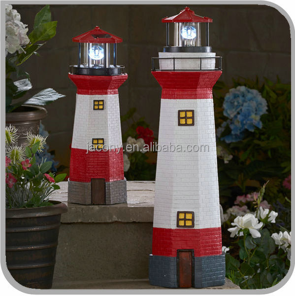 solar lighthouse for garden outdoor (JL-1601)