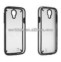 BLACK COLOR TPU+PC case for Samsung Galaxy s4 i9500