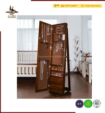 Home Furniture MDF Floor Standing Mirror Jewelry Cabinet, Floor Mirror Jewelry Cabinet, Full Length Mirror Jewelry Cabinet