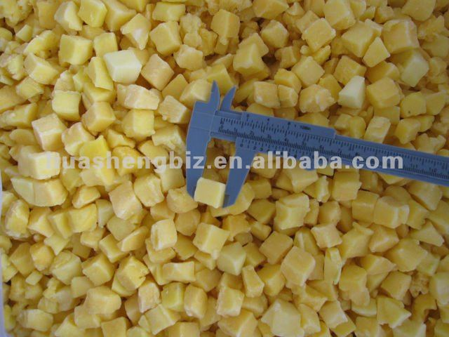 IQF Frozen Mango Diced 15x15mm in good Shape