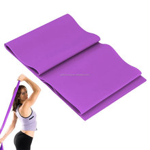 Strong Rubber Stretch Resistance Bands Heat Exercise Elastic Yoga Band