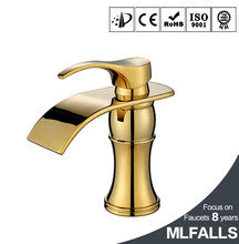 China factory golden faucet, bathroom basin antique brass water taps