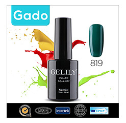 Wholesale 150 Colors Gado personalised crystal nail polish paint