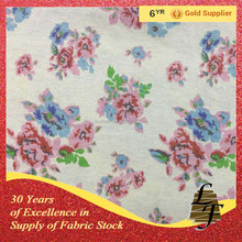 floral print cotton fabric stock lot