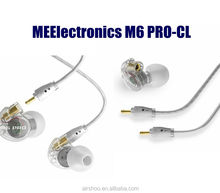 Black / White M6 PRO Universal 3.5mm Wired In-ear Earphone Noise -Isolating Musician Monitors Brand New Headphones