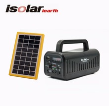 New Energy Solar Power Radio With 3W Solar Light Bulb Kit Phone Charger For Africa