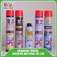 manufacture 750ml expanding expansion pu foam