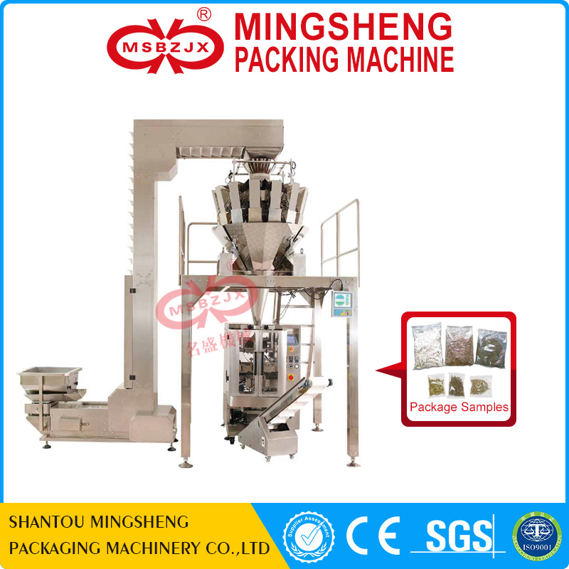 JX026 Automatic potato chip packing machine with combination scales