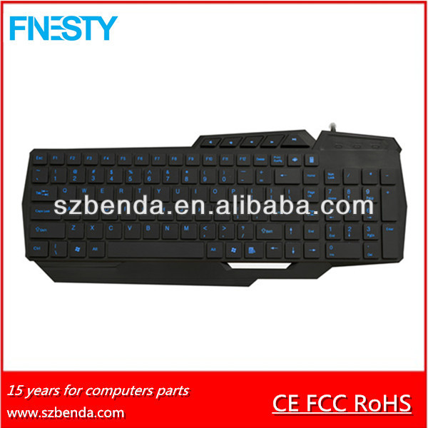 USB wired chocolate slim multimedia keyboard