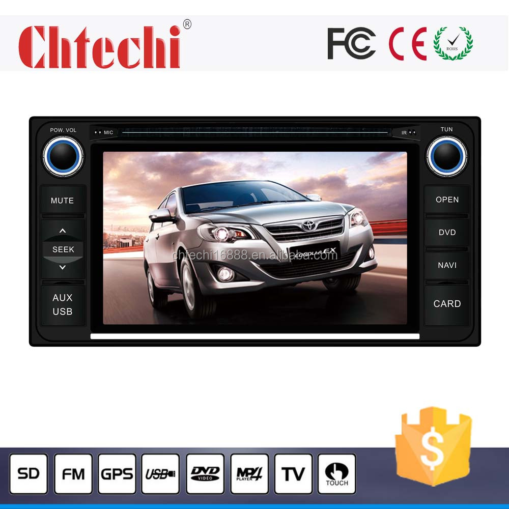 Car dvd player for Toyota universal 6.2 inch Android 4.4.4 system with TV/AM/FM/Bluetooth