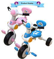 Classic Pinc Blue 7 Inch Easy Steer Tricycle For Kids Baby Online