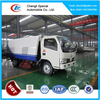 Dongfeng road sweeper truck,price of road sweeper truck