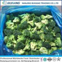 Wholesale Bulk Frozen Broccoli IQF Broccoli cut cauliflower vegetables 2017 crop