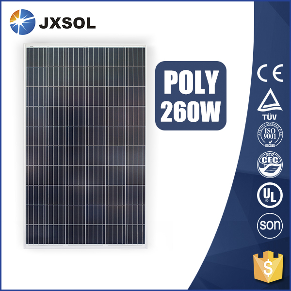 China factory supplier hot sale 260w polycrystalline solar panel 260w polycrystalline cell solar