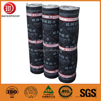 Rubber Powder Modified Bitumen Reinforced Waterproof Roll Roofing Material