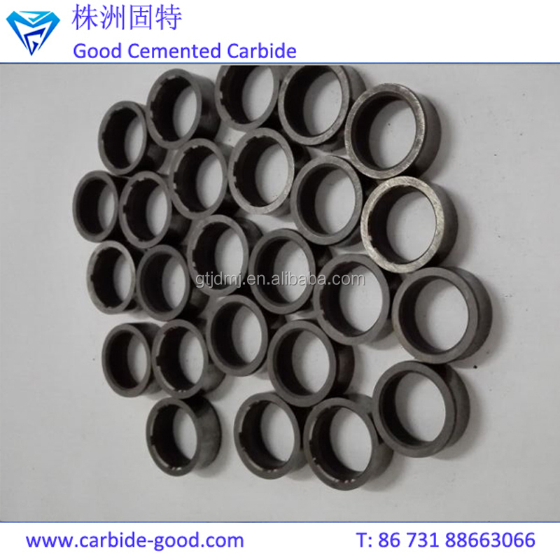 Wholesale Customized Polished Blank Tungsten Carbide Ring Seals For Mechanical Parts